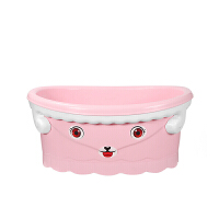 初生宝宝洗澡盆可坐躺通用新生儿儿童小孩沐浴桶感温婴儿浴盆