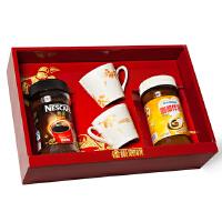 [当当自营] 雀巢咖啡 醇品咖啡大礼盒600g(醇品咖啡200g+伴侣400g)