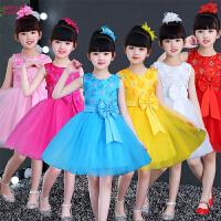女孩蓬蓬裙幼儿跳舞演出服儿童表演服装女童公主裙舞蹈裙纱裙