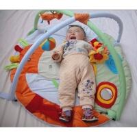 蚊帐儿童游戏垫游戏毯爬行毯宝宝健身架音乐毯挂件婴儿健身架