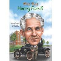 【现货】英文原版 WHO WAS HENRY FORD 亨利福特是谁 名人传记 中小学生读物