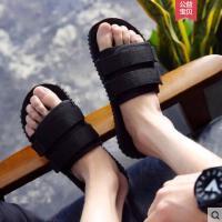 新款户外新品凉鞋人字网红同款时尚外穿男士凉拖室外拖鞋沙滩一字拖潮