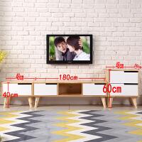 实木电视柜茶几组合现代简约套装简易卧室电视柜北欧客厅电视机柜 整装