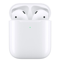 Apple/苹果 AirPods二代无线蓝牙耳机 配无线充电盒 无线充电苹果iphone蓝牙耳机MRXJ2CH/A