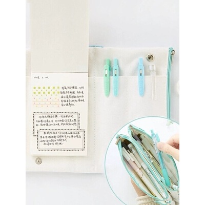 韩国简约女生小清新可爱笔袋 ins铅笔袋 韩版高中生文具盒铅笔盒