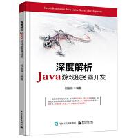 深度解析Java游戏服务器开发 Java游戏 编程开发教程 Java游戏开发技术教程 游戏设计制作书籍 架构分析系统优