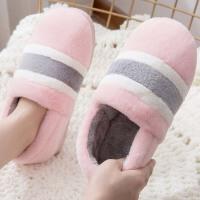 全包跟棉拖鞋女冬季室内可爱家居毛拖鞋情侣防滑保暖加厚大码棉鞋
