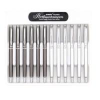 学生美工钢笔 晨光43602弯头金属钢笔 书法练字钢笔 单支装