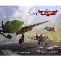 现货 英文原版 Art of Planes 飞机总动员艺术设定画集
