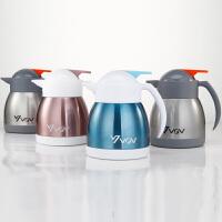 304不锈钢保温壶小型迷你咖啡壶家用办公热水瓶豆浆壶茶瓶暖壶1L