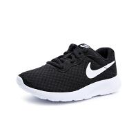 耐克(NIKE)童鞋2019夏新款黑白运动鞋网眼透气低帮休闲鞋818382-011