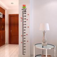 树芽身高贴 儿童房 幼儿园 标尺身高尺 卧室卡通墙贴 3D 亚克力立体墙贴