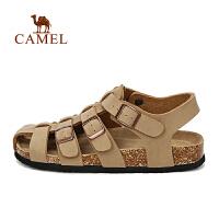 camel骆驼户外男款针扣沙滩鞋 轻便耐磨凉鞋沙滩鞋