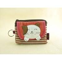 猫零钱包硬币包散纸包钥匙环女用小包包实用口袋包创意设计韩版