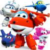 奥迪双钻超级飞侠玩具大号变形机器人全套装小飞侠玩具 淘淘 金刚 酷雷 米莉 卡尔叔叔 儿童玩具