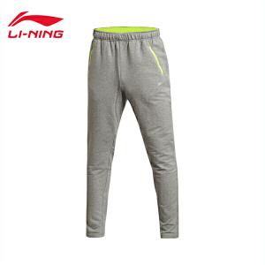 李宁卫裤男士跑步系列秋季长裤吸湿排汗反光收口运动裤AKLK483