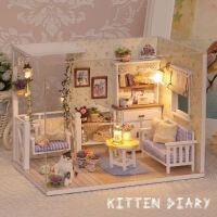 小玲玩具 小伶玩具 芭比娃娃过家家屋房子diy手工拼装别墅3-5-6岁女