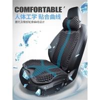 汽车坐垫夏季座垫凉垫单片四季通用座套3D通风透气凉席