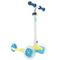 闪光轮滑板车 宝宝儿童滑板车2-3-4-5岁三轮滑板车