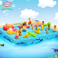 欢乐游泳池 儿童智力题解50关 益智逻辑迷宫玩具华容道