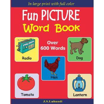 【预订】Fun Picture Word Book (Full Color) 预订商品,需要1-3个月发货,非质量问题不接受退换货。