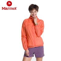 Marmot/土拨鼠夏季户外超薄透气女士皮肤衣防晒衣风衣外套