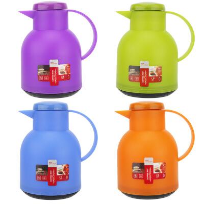 玻璃内胆保温壶家用办公热水瓶小型迷你咖啡豆浆茶壶开水暖瓶1L