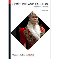 Costume and Fashion (Fifth Edition) (World of Art) 世界艺术之服饰与时