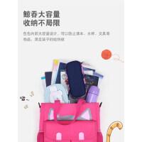 补习袋女小学生美术袋儿童包包斜挎包作业袋男童休闲补课手提袋