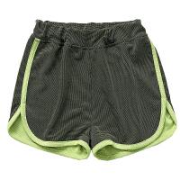 春夏新款童装运动短裤子薄款男童五分裤女童热裤沙滩短裤外穿