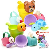 �和�洗澡玩具�蛩��男孩女孩小�S��洗�^杯�������⑺��靥籽b沙��c