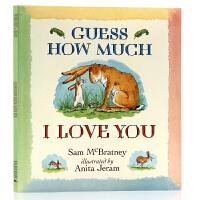 Guess How Much I Love You 猜猜我有多爱你 英文原版绘本 廖彩杏书单 卡通动漫图画儿童英语书3