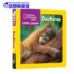 英文原版 National Geographic Kids Look and Learn Bedtime 美国国家地理