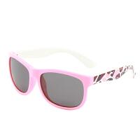 大框儿童硅胶偏光太阳镜女舒适遮阳男童女童时尚小孩眼镜墨镜