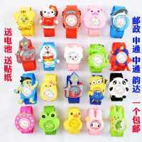 儿童玩具手表2-3岁男孩卡通奥特曼女孩幼儿可爱小童啪啪圈电子表
