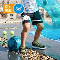 【新春4折价:55.6】361度童装 男童针织五分裤儿童运动裤K51924522