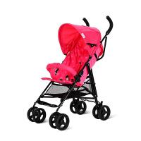 简易推车轻便折叠婴儿车大童宝宝手推车3-4-5-6岁伞车可坐半躺旅游车