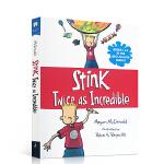 顺丰发货 英文原版进口 Stink: Twice as Incredible 儿童阅读进阶桥梁章节书 小学生课外趣味读
