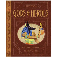 Encyclopedia Mythologica: Gods and Heroes 神话故事立体书 by Matthe