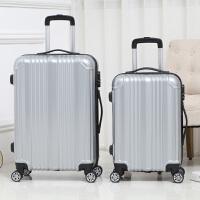 拉杆箱 2019新款时尚镜面万向轮旅行箱女士男士登机箱潮流学生收纳箱大容量休闲皮箱箱包