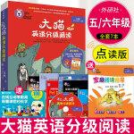 z【点读版】大猫英语分级阅读八级1Big cat大猫8级适合小学五、六年级共7本+光盘+儿童英语故事绘本英语阅读指导