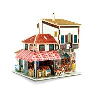 3D立体拼图益智拼装模型 成人儿童生日创意礼物 木质DIY小屋