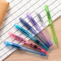 英雄395儿童套装钢笔正姿书写学生用练字钢笔墨囊男女生特细钢笔