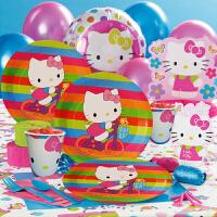 孩派 生日聚会用品 生日派对用品 Hello Kitty主题系列派对用品
