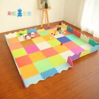 婴儿游戏毯厚拼接垫泡沫地垫宝宝爬爬垫拼图围栏儿童爬行垫