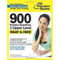 【预订】900 Practice Questions for the Upper Level SSAT & ISEE
