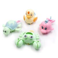 (送赠品)水陆2用4个装宝宝洗澡戏水玩具游泳拉绳划水拉线玩具泳池浴缸玩耍