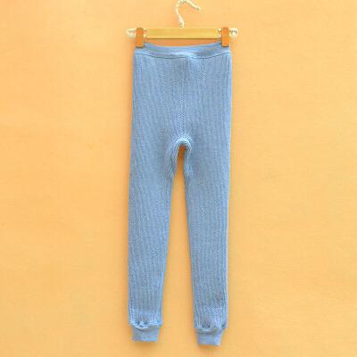 儿童保暖内衣保暖裤小中大男女童加绒加厚热能裤