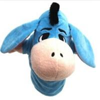 布袋木偶 套装手偶毛绒玩具动物老虎斑马嘴巴能动讲故事儿童生日礼物