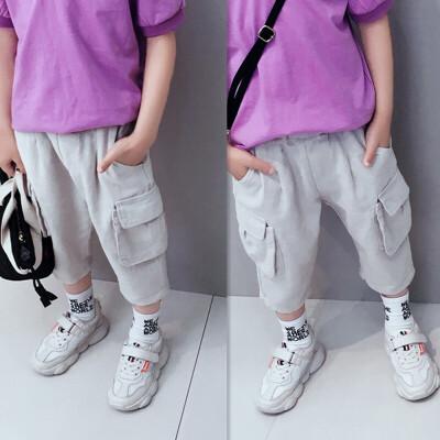 童装男童七分裤夏装薄款儿童休闲裤中大童短裤裤子